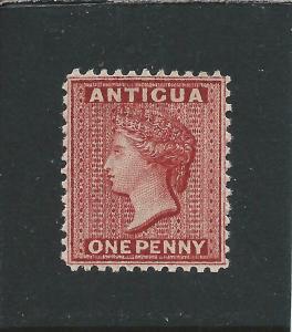 ANTIGUA 1884 1d CARMINE-RED PERF 12 MNH SG 24 CAT £60