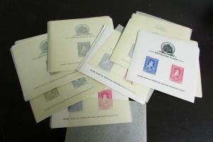 Haiti 1945 Lourdes Issue Stamp Souvenir Sheet Lot of 20 Sets