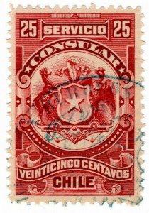 (I.B) Chile Revenue : Consular Service 25c