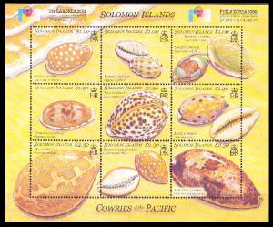 2002Solomon Islands 1083-91KLShellfish in shells 6,50 €