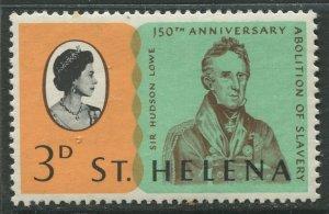 STAMP STATION PERTH St Helena #205 Abolition of Slavery 1968 MNH