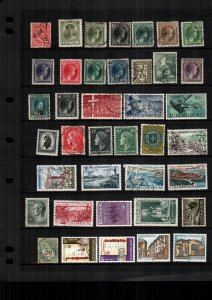Luxembourg  38  diff used and mint lot collection