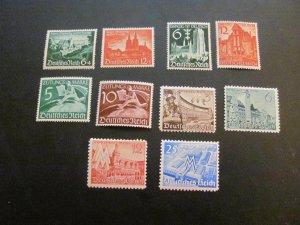 GERMANY 1940'S MNH  4 NICE SETS   (113)