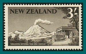 New Zealand 1960 Tongariro National Park, mint #349,SG798