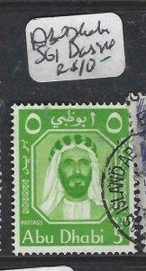 ABU DHABI  (PP2306B)  SHEIKH  SG1 CANCEL DAS ISLAND   VFU