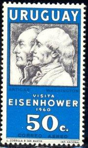 President Eisenhower's Visit, Uruguay stamp SC#C204 MNH