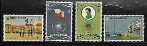 Gibraltar 443-46 Commonwealth Day Mint NH