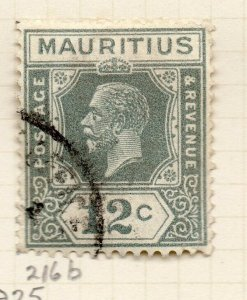 Mauritius 1921-34 Early Issue Fine Used 12c. NW-90918