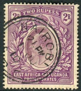 EAST AFRICA & UGANDA-1906 3r Dull & Bright Purple.  A fine used example Sg 27