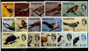 Mauritius 276-290 Set Mint Hinged