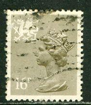 Great Britain, Regional, Wales; 1983: Sc. # WMMH28: O/Used Single Stamp