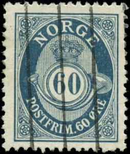 Norway Scott #58 Used