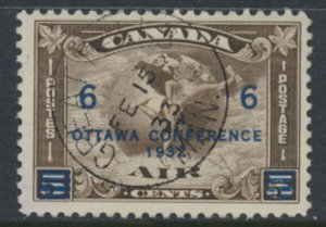 Canada SG 318 Used AIR OPT Ottawa Conference dated cancel SC# C2 see detail /...