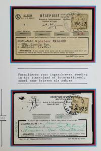 France Early Stamped Transportation Receipts