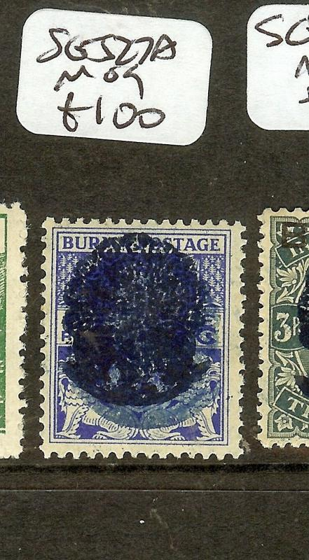 BURMA JAPANESE OCCUPATION (P2601B) ON INDIA SJ27A   MOG