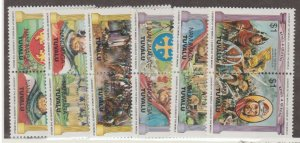 Tuvalu - Nanumaga Scott #23-28 Stamps - Mint NH Set