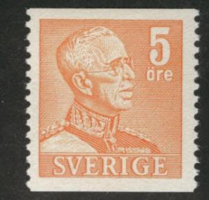 SWEDEN Scott 391 MH* 1948 coil stamp
