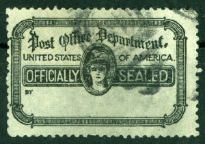 US, 1936? OX27 Officially Sealed stamp perf 11.5