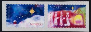 Norway 1527-8 MNH Christmas, Adoration of the Magi, Star