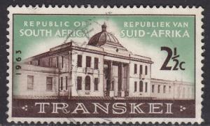 South Africa 287 Transkei Legislative Assembly 1963