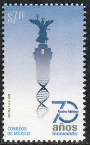 MEXICO 3106, 70th ANNIV. ROCHE LABORATORIES IN MEXICO. MINT, NH. VF.