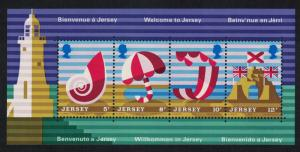 Jersey Lighthouse Castle Tourism MS SG#MS128