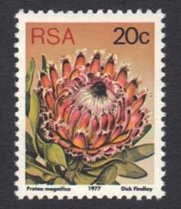 South Africa 1977 MNH succulents   perf 12 1/2   20 c      #