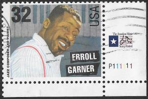 US 2992 Used - American Music Series - Jazz Musicians - Erroll Garner - PNS