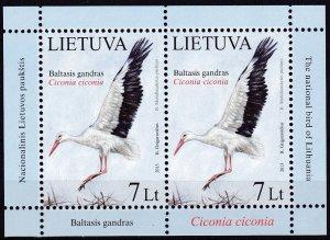 2013 Lithuania 1130KL Birds 11,00 €