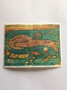 Vatican UNESCO Venice 1972 Mint Hinged