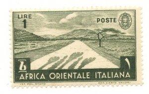 Italian East Africa, Scott #12, Unused, Hinged