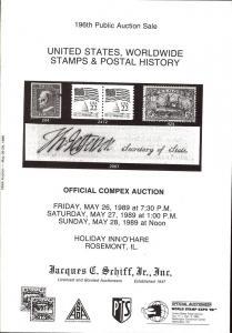 United States, Worldwide Stamps & Postal History, Schiff 196