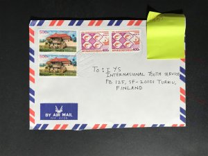 Indonesia #780//B242 Cover to Finland (1970-1999) Cover #2227