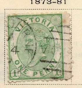 Victoria 1873-81 Early Issue Fine Used 1d. 326797