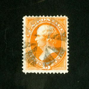 US Stamps # 163 XF Used brite and fresh choice