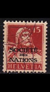 SCHWEIZ SWITZERLAND [SDN] MiNr 0033 ( O/used )
