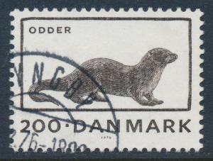 Denmark Scott 584 (AFA 604), 2.00kr Otter, VF U