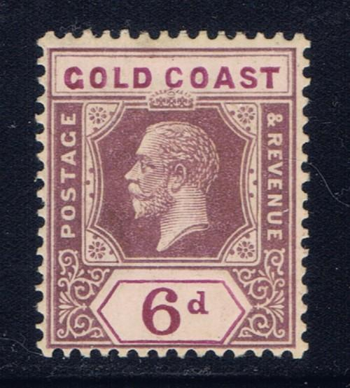 Gold Coast 89 Hinged 1922 issue