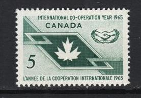 Canada - 1965 Int. Cooperation Year  Sc# 437 - MNH (2366)