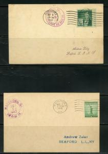 US POSTAL HISTORY OF THE STATE OF GEORGIA LOT OF 12 COVERS 1897-1989 AS SHOWN