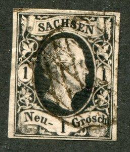 Saxony    SC.# 5 used