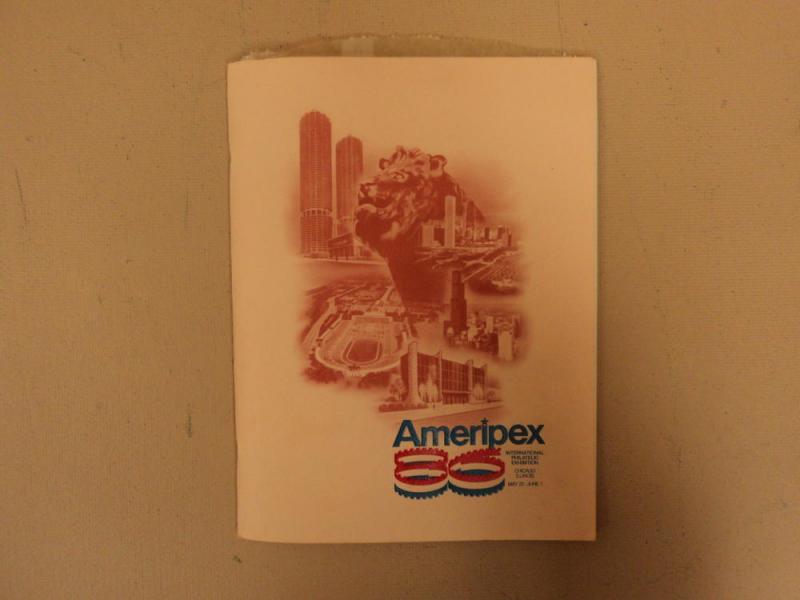 Ameripex 86 Souvenir Folder International Philatelic Exhi...