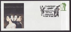US Okmozart,Music Festival,Bartlesville,OK 2003 # 10 Cover