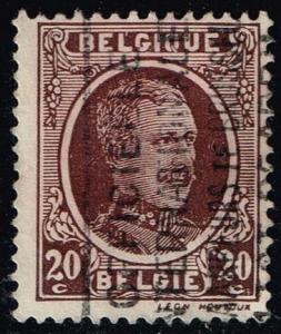 Belgium #150 King Albert I; Used (0.25)