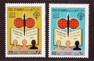 Kuwait Scott #533-534 MH