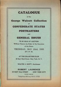 Laurence: Sale #   -  The George Walcott Collection, Laur...