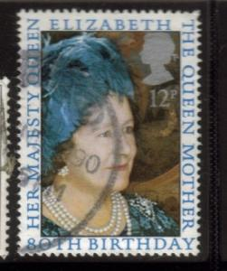 Great Britain Sc 919 1980 Queen Mother 80 years stamp used