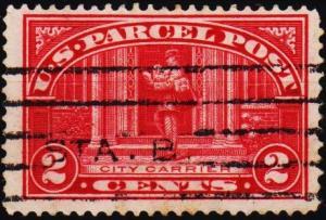 U.S.A. 1912 2c S.G.P424 Fine Used