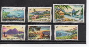 French Polynesia 211-215,C32 MLH