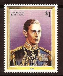 Barbuda  #  624  Mint  N H